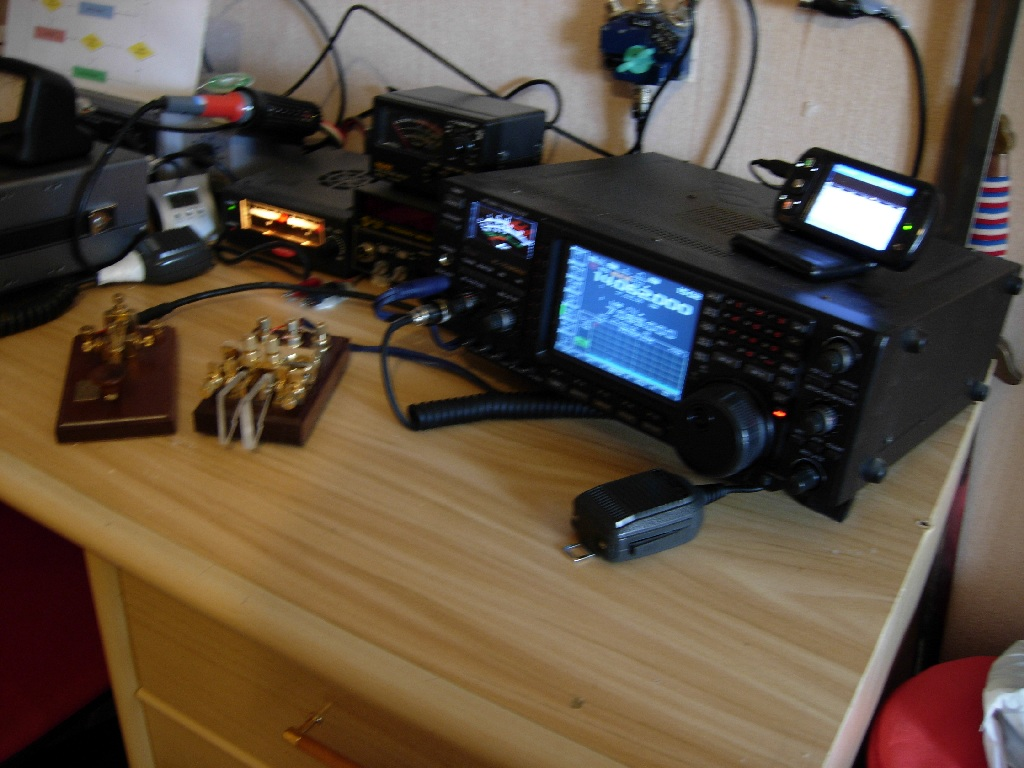 Here is the eSSB CW Station of IT9BDX!